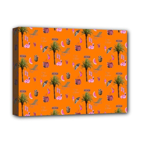 Aloha   Summer Fun 2c Deluxe Canvas 16  X 12