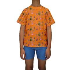 Aloha   Summer Fun 2c Kids  Short Sleeve Swimwear
