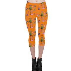 Aloha   Summer Fun 2c Capri Leggings