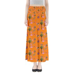 Aloha   Summer Fun 2c Full Length Maxi Skirt