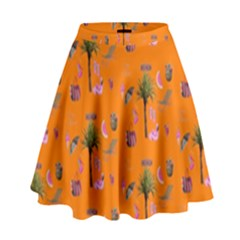 Aloha   Summer Fun 2c High Waist Skirt