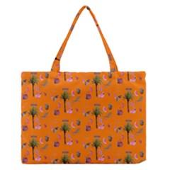 Aloha   Summer Fun 2c Zipper Medium Tote Bag