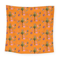 Aloha   Summer Fun 2c Square Tapestry (large)