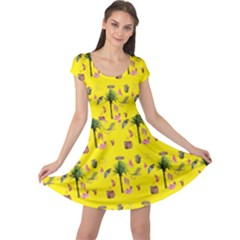 Aloha   Summer Fun 2b Cap Sleeve Dress
