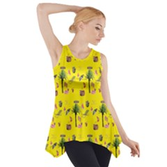 Aloha   Summer Fun 2b Side Drop Tank Tunic