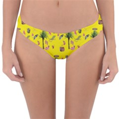 Aloha   Summer Fun 2b Reversible Hipster Bikini Bottoms