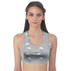 Shave Our Rhinos Animals Monster Sports Bra