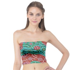 Recursive Coupled Turing Pattern Red Blue Tube Top