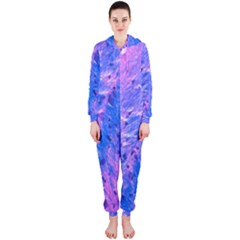 The Luxol Fast Blue Myelin Stain Hooded Jumpsuit (ladies)