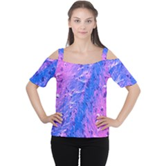 The Luxol Fast Blue Myelin Stain Cutout Shoulder Tee