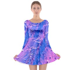 The Luxol Fast Blue Myelin Stain Long Sleeve Skater Dress