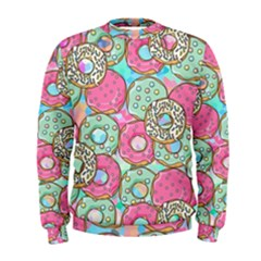 Donuts Pattern Men s Sweatshirt