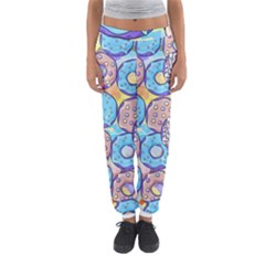 Donuts Pattern Women s Jogger Sweatpants