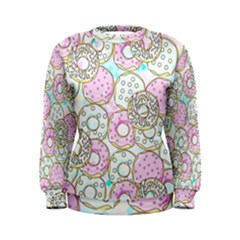Donuts Pattern Women s Sweatshirt