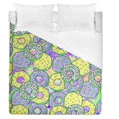 Donuts Pattern Duvet Cover (queen Size)