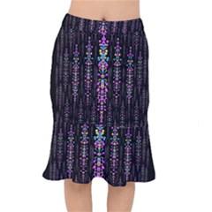 Rainbow Asteroid Pearls In The Wonderful Atmosphere Mermaid Skirt