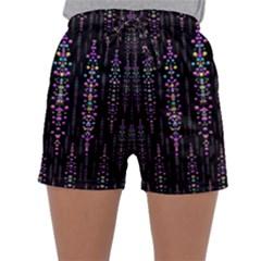 Rainbow Asteroid Pearls In The Wonderful Atmosphere Sleepwear Shorts