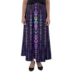Rainbow Asteroid Pearls In The Wonderful Atmosphere Flared Maxi Skirt