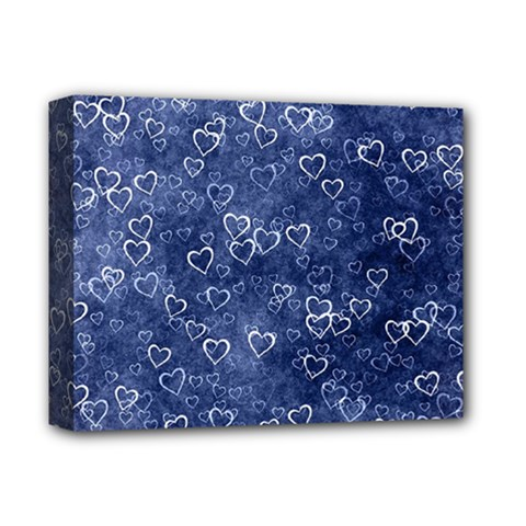 Heart Pattern Deluxe Canvas 14  X 11