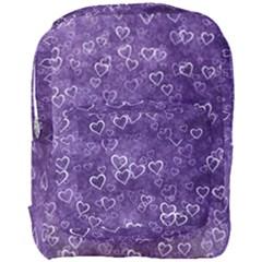 Heart Pattern Full Print Backpack