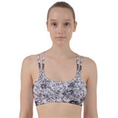 Heart Pattern Line Them Up Sports Bra