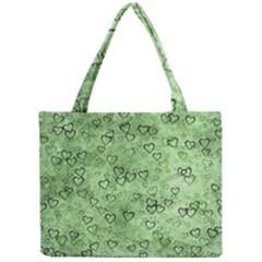 Heart Pattern Mini Tote Bag