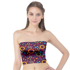 70s Pattern Tube Top