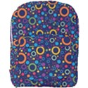 70s pattern Full Print Backpack View1