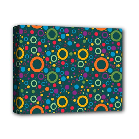 70s Pattern Deluxe Canvas 14  X 11