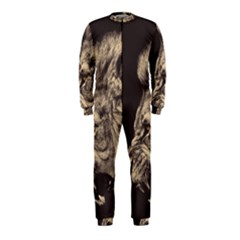 Angry Male Lion Onepiece Jumpsuit (kids)