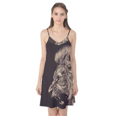 Angry Male Lion Camis Nightgown