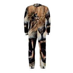 Male Lion Angry Onepiece Jumpsuit (kids)