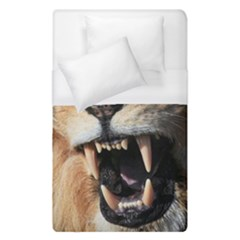 Male Lion Angry Duvet Cover (single Size)