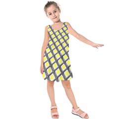 Wafer Size Figure Kids  Sleeveless Dress
