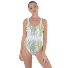 Weeds Grass Green Yellow Leaf Bring Sexy Back Swimsuit