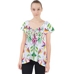 Peacock Rainbow Animals Bird Beauty Sexy Dolly Top