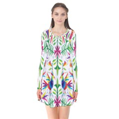 Peacock Rainbow Animals Bird Beauty Sexy Flare Dress