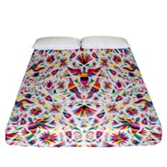 Peacock Rainbow Animals Bird Beauty Sexy Flower Floral Sunflower Star Fitted Sheet (california King Size)
