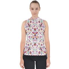Peacock Rainbow Animals Bird Beauty Sexy Flower Floral Sunflower Star Shell Top