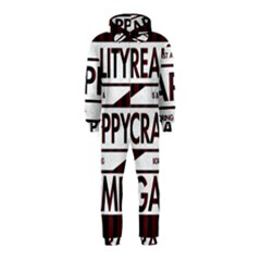 Reality Is Just A Crappy Boring Game Hooded Jumpsuit (kids)
