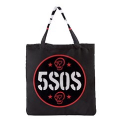5sos 5 Seconds Of Summer Grocery Tote Bag