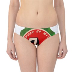 Fresh Up With  7 Up Bottle Cap Tin Metal Hipster Bikini Bottoms