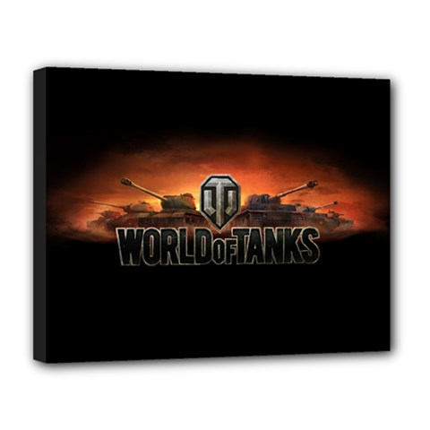 World Of Tanks Canvas 14  X 11