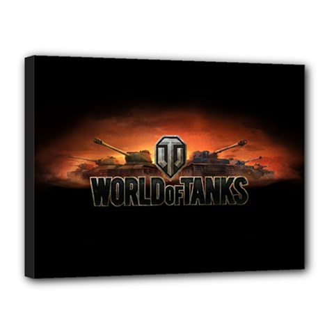 World Of Tanks Canvas 16  X 12
