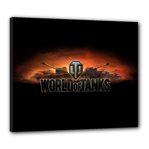 World Of Tanks Canvas 24  X 20