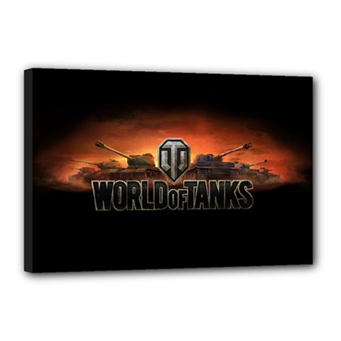 World Of Tanks Canvas 18  X 12