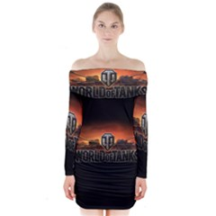 World Of Tanks Long Sleeve Off Shoulder Dress