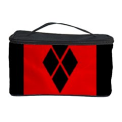 Harley Quinn Logo Pattern Cosmetic Storage Case