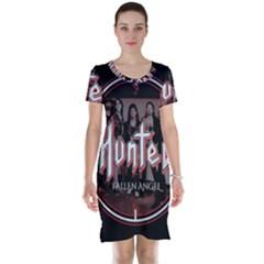 Fallen Angel Hunted Short Sleeve Nightdress