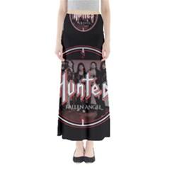 Fallen Angel Hunted Full Length Maxi Skirt